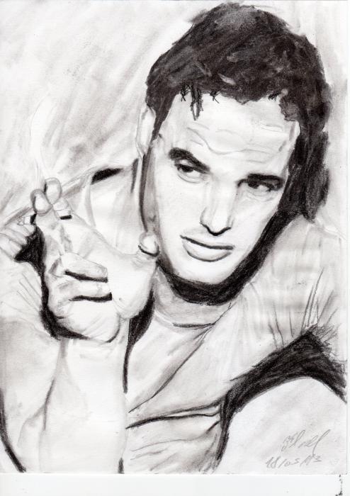 Marlon Brando by Flave